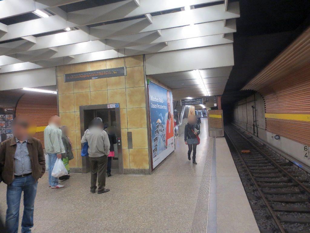 Heimeranplatz/Bahnsteig/Gleis 1