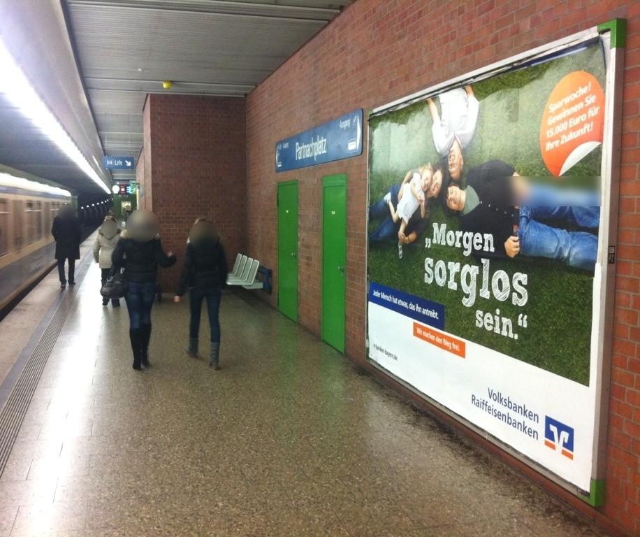 Partnachplatz/U-Bf /Gleis 2 Nh. Lift