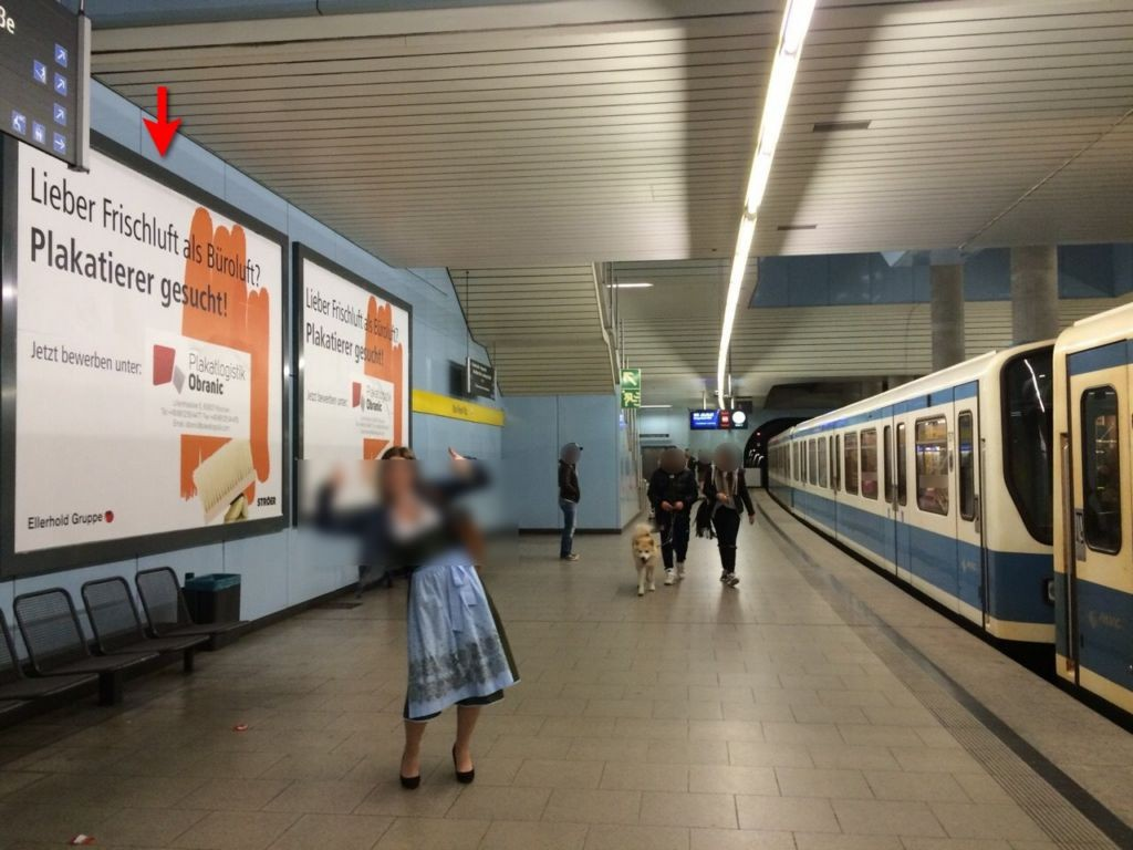 Max-Weber-Platz, Bstg., 1. Sto.