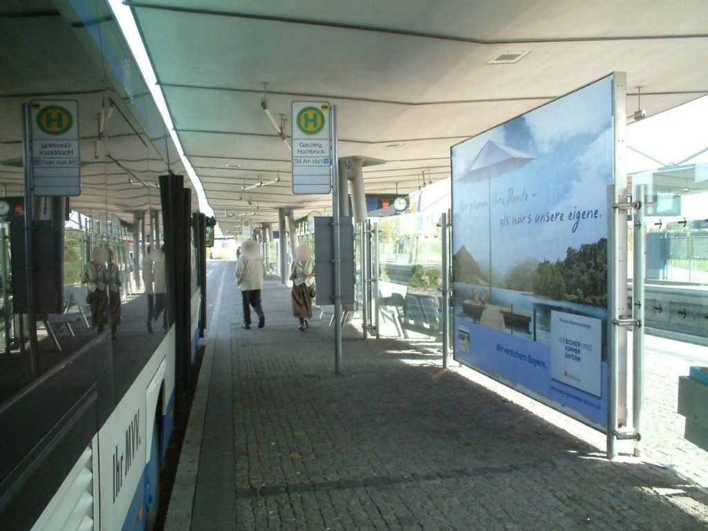 U-Bf Hochbrück/Bahnsteig mi. Busbahnhof