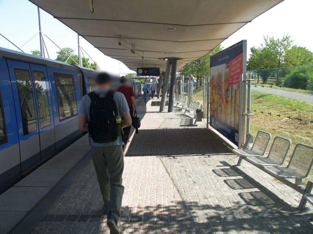 U-Bf Hochbrück/Bahnsteig mi. U-Bahn-Seite/Gl 1
