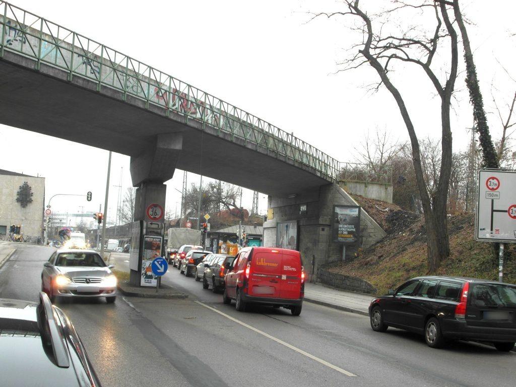 Lagerhausstr. DB Brücke sew. re.