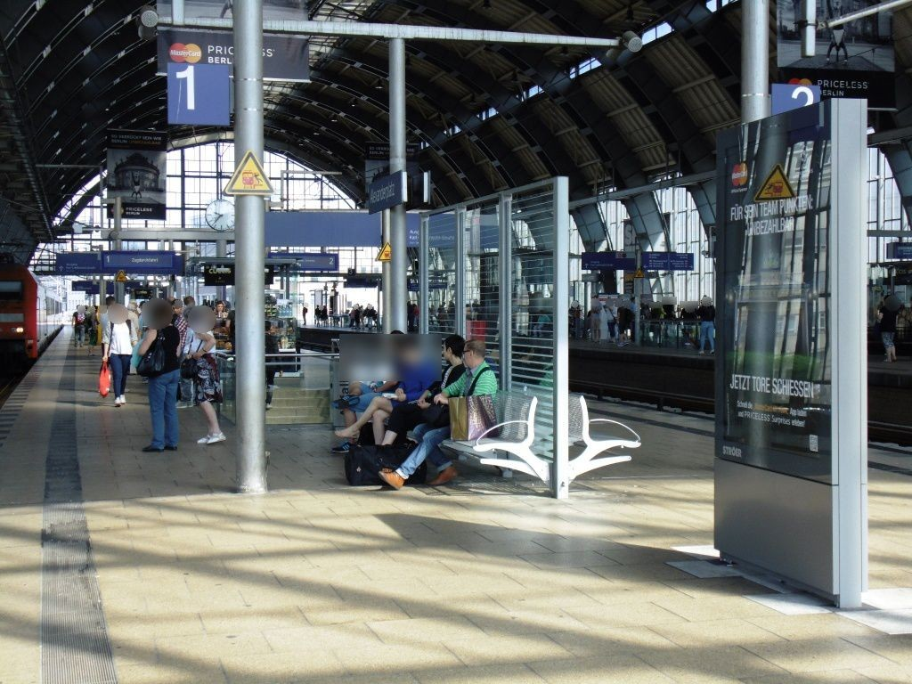 S-Bf Alexanderplatz, Regio-Bstg. Gl. 1, 3. Sto.
