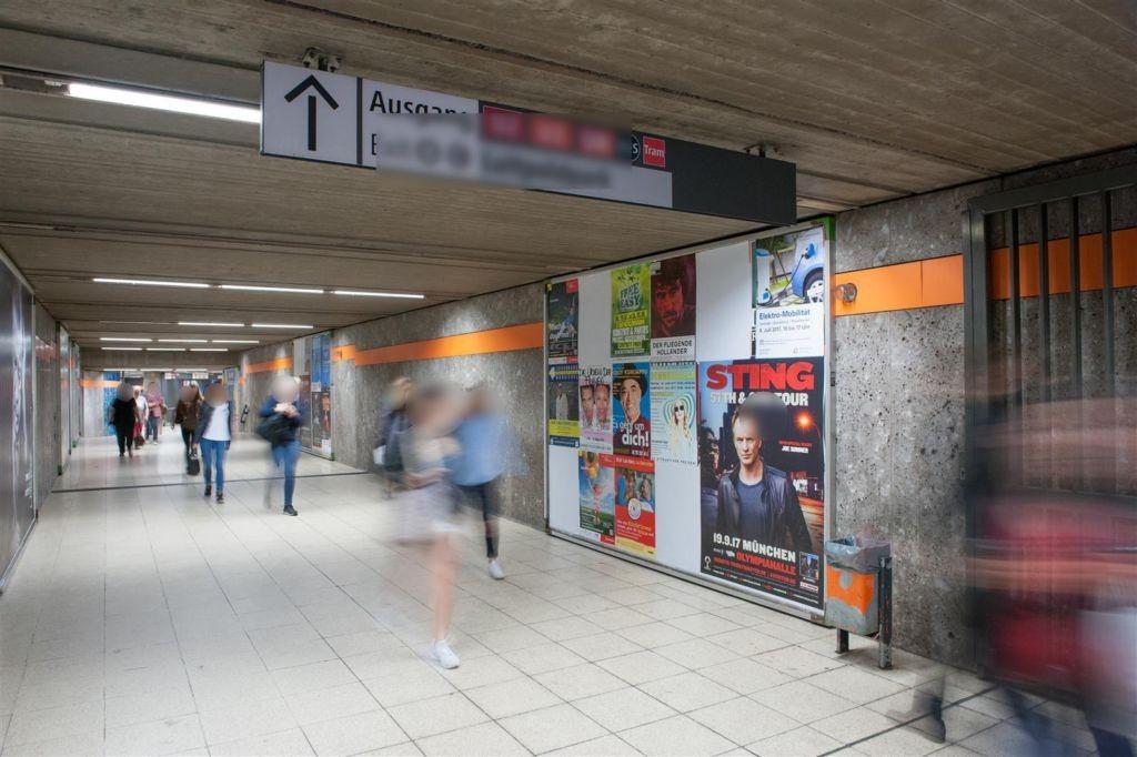 Scheidplatz Ausg. Bummstr. links