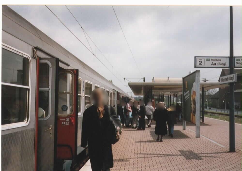 Bf, Bahnsteig 2 re.