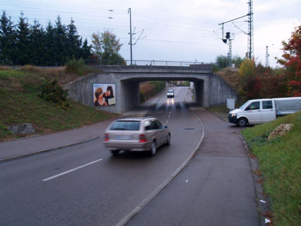 Küstenfelderstr./DB-Ufg. sew. links