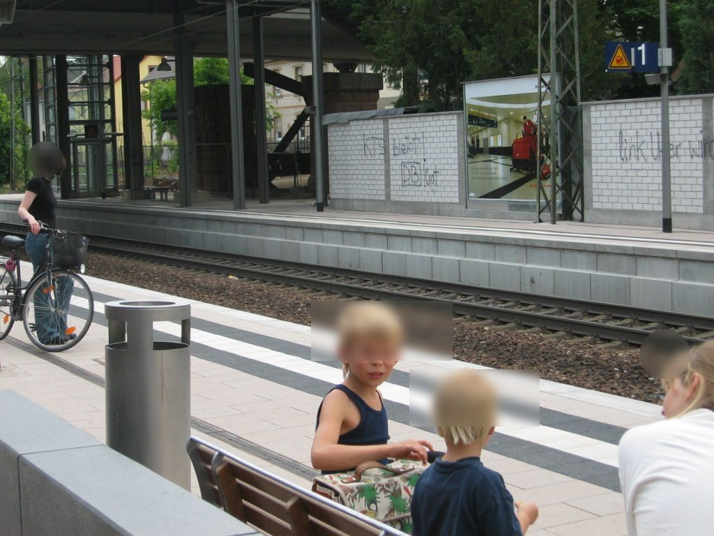 S-Bf Kirchheim, Hausbahnsteig