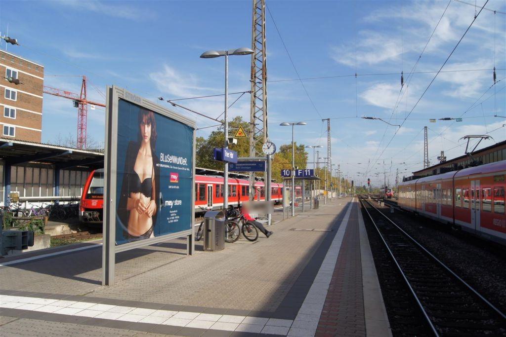 Hbf, Bahnsteig, Gl. 10 Nord/ Si. Gleise