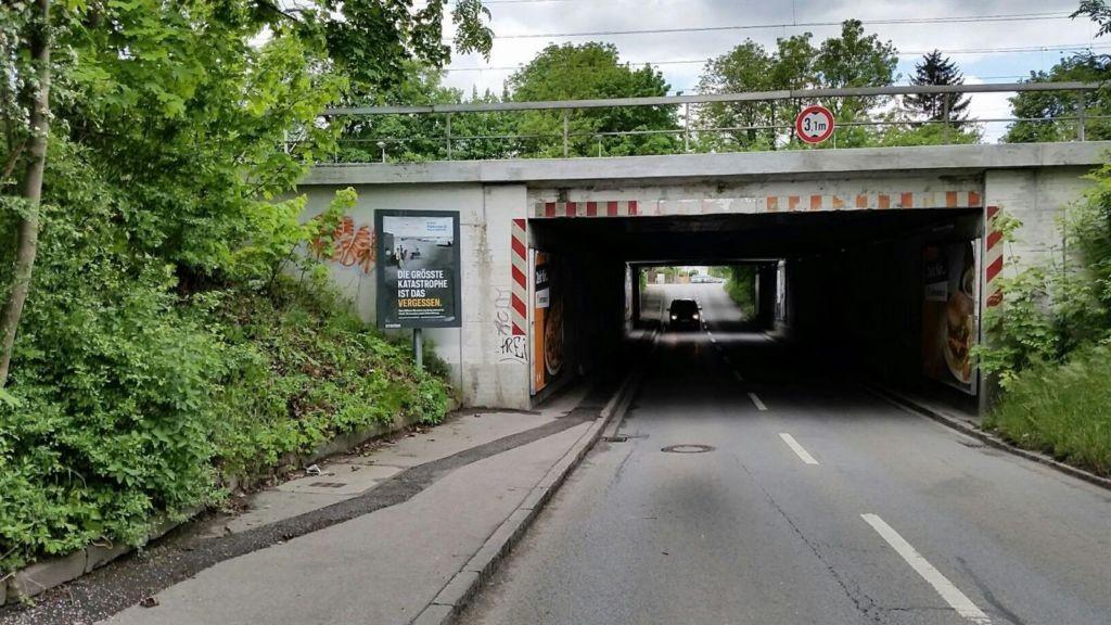 Dülferstr. DB Brücke vor Ufg. sew