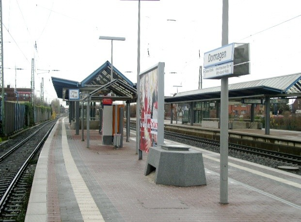 Bf Dormagen, Bstg., Ri. Köln VS