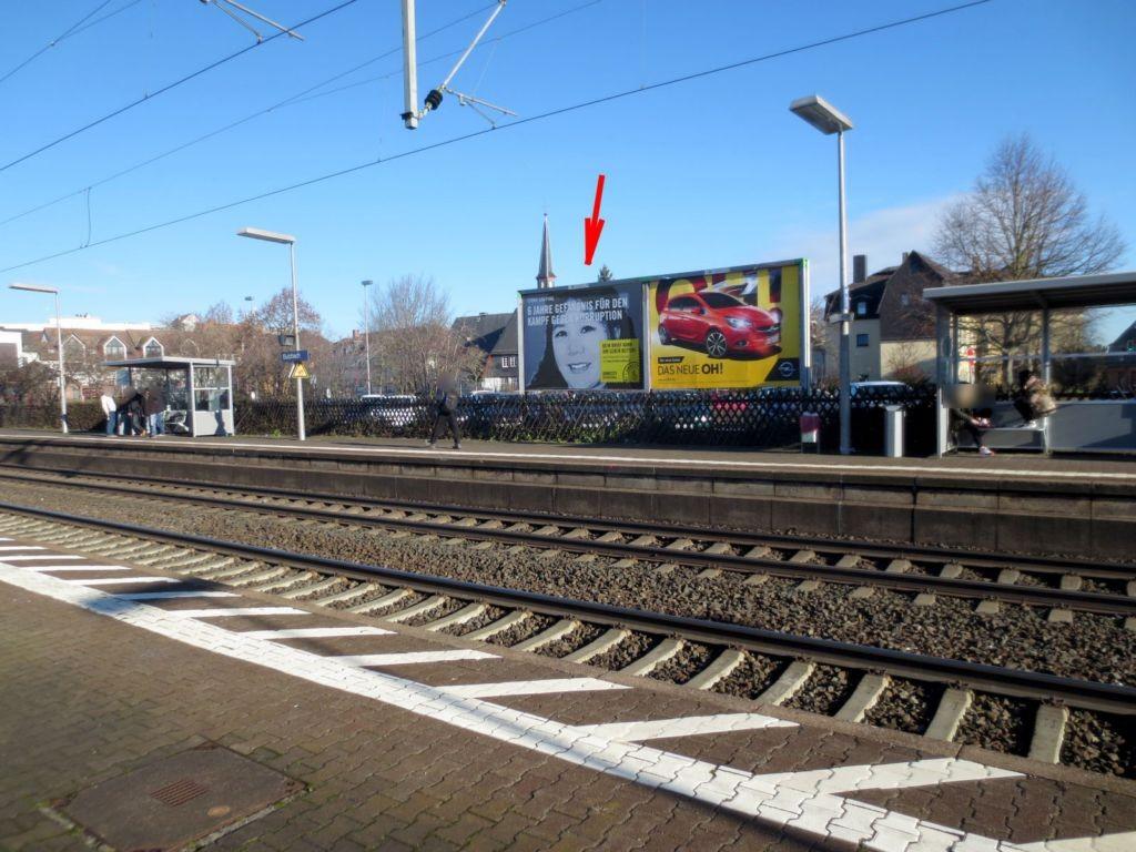 Ludwigstr. Bahnhofsvorplatz Sicht Bahnsteig Rechts