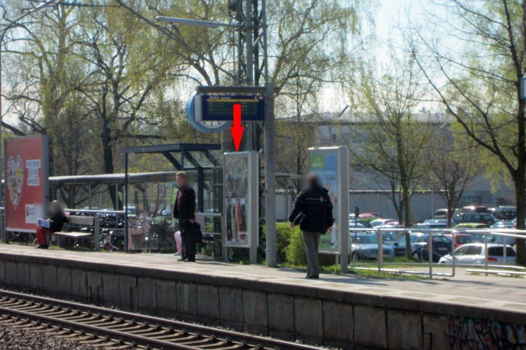 S-Bf Eichenau, Bstg. Gleis 1 li.
