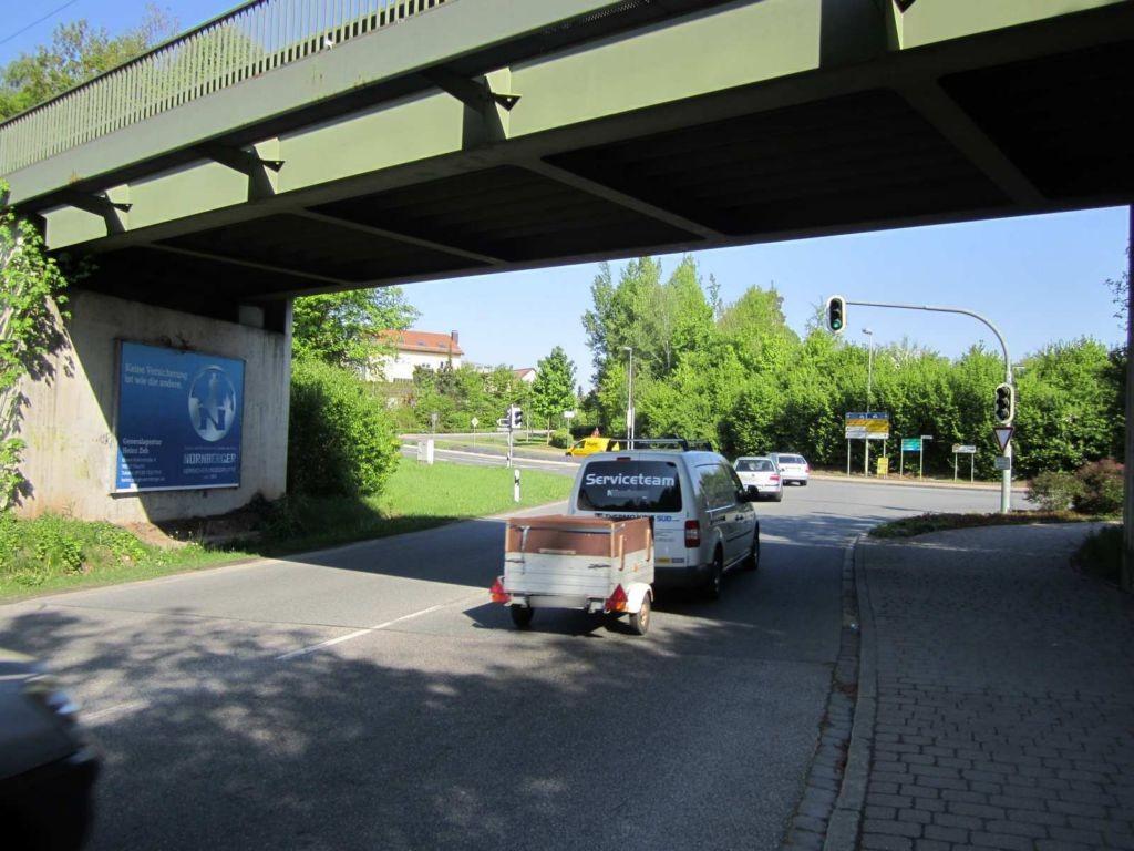 Nürnberger Str./DB-Brücke Nh.  Fellastr., sew.