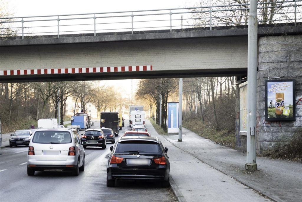 Siemensallee DB Brücke saw rechts