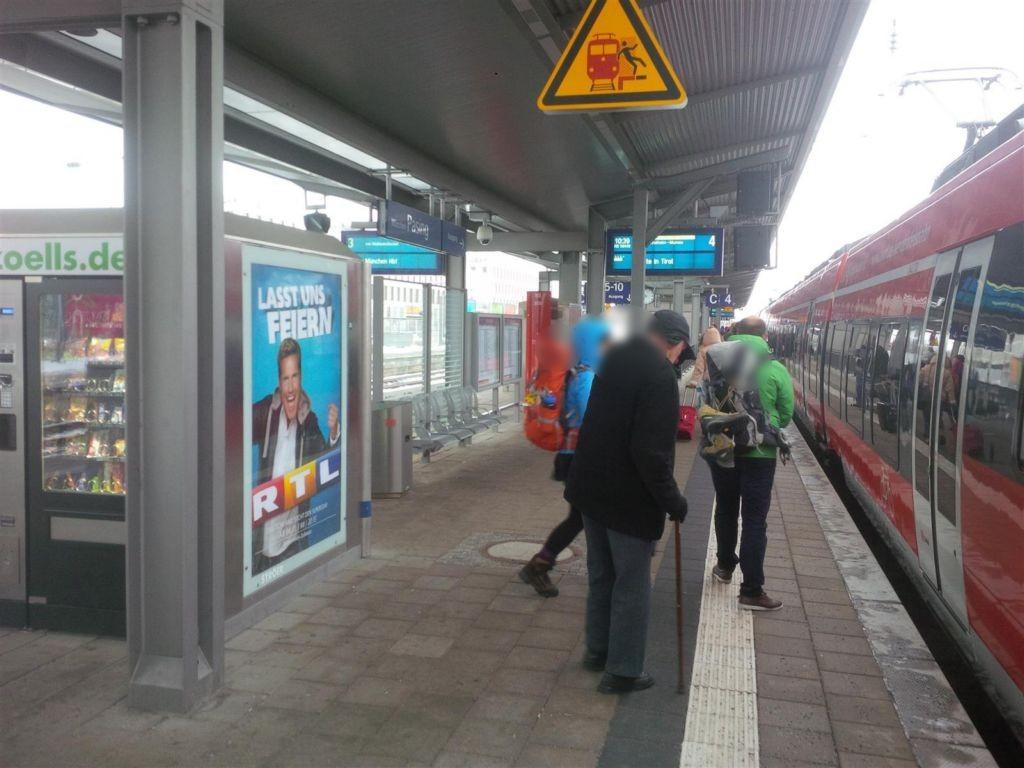 Bf Pasing, Bstg., Gleis 4 Automat