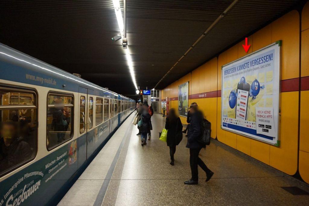 Kolumbusplatz/Bahnsteig