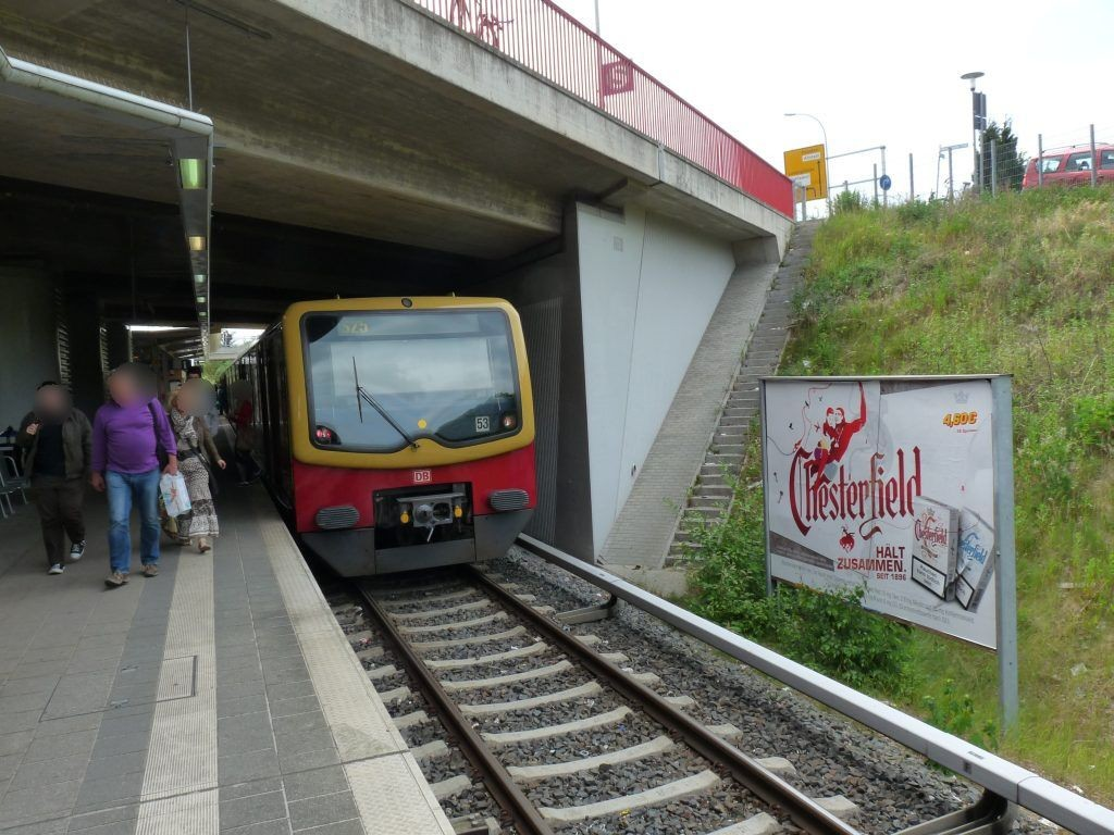 S-Bf Teltow-Stadt, HGL 1/Nh.Treppe
