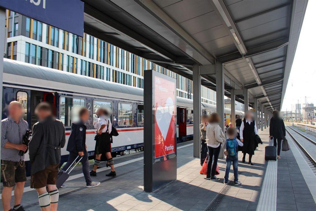 Hbf Holzkirchner Flügelbhf. Gleis 7