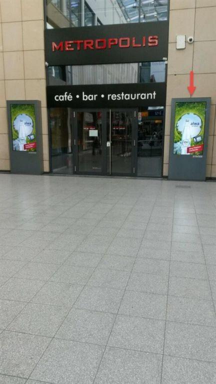 Hbf, EH, Westmall, nb. Restaurant, re.